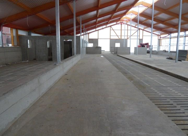 Kuhstall mit High Grade Faser Bewehrung (2)