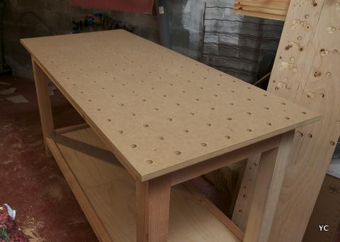 table de cuisine pliable