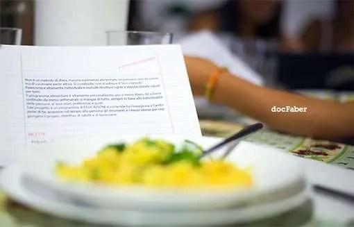 A cena con DocFaber