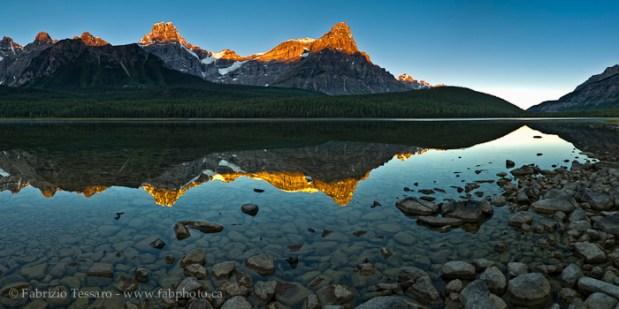 UPPER WATERFOWL LAKE,Banff National Park, Alberta Canada
