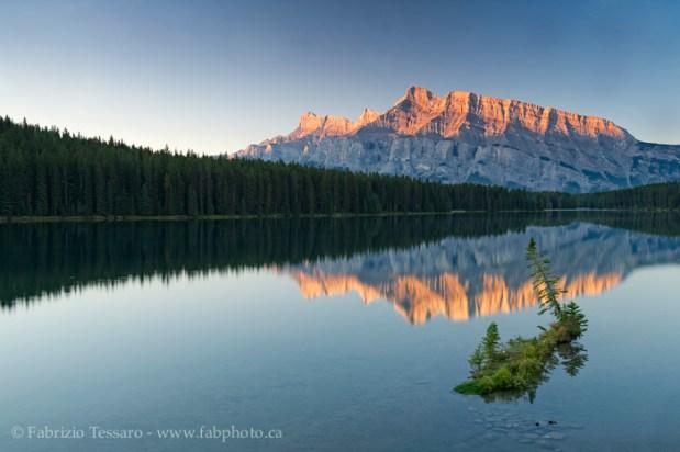 LAKE MINNEWANKA,Banff National Park, Alberta Canada