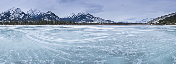 Jasper Lake and The De Smet Range, Jasper National Park