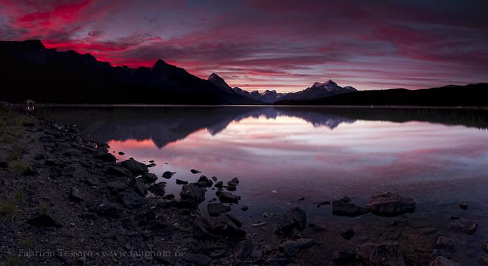 Maligne Lake, Jasper Alberta Canada