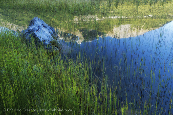 reflections,Banff National Park, Alberta Canada