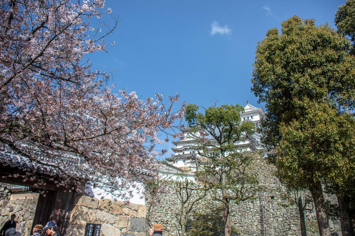 Giappone, il castello di Himeji