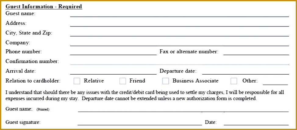 Ach Deposit Authorization Form Template - Resume Examples