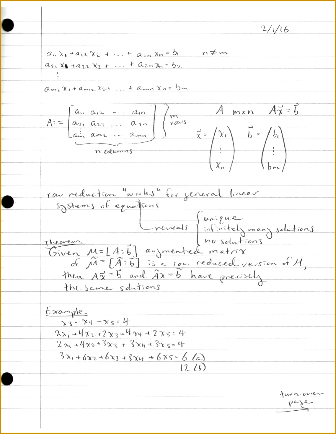5 Cornell Notes Worksheet