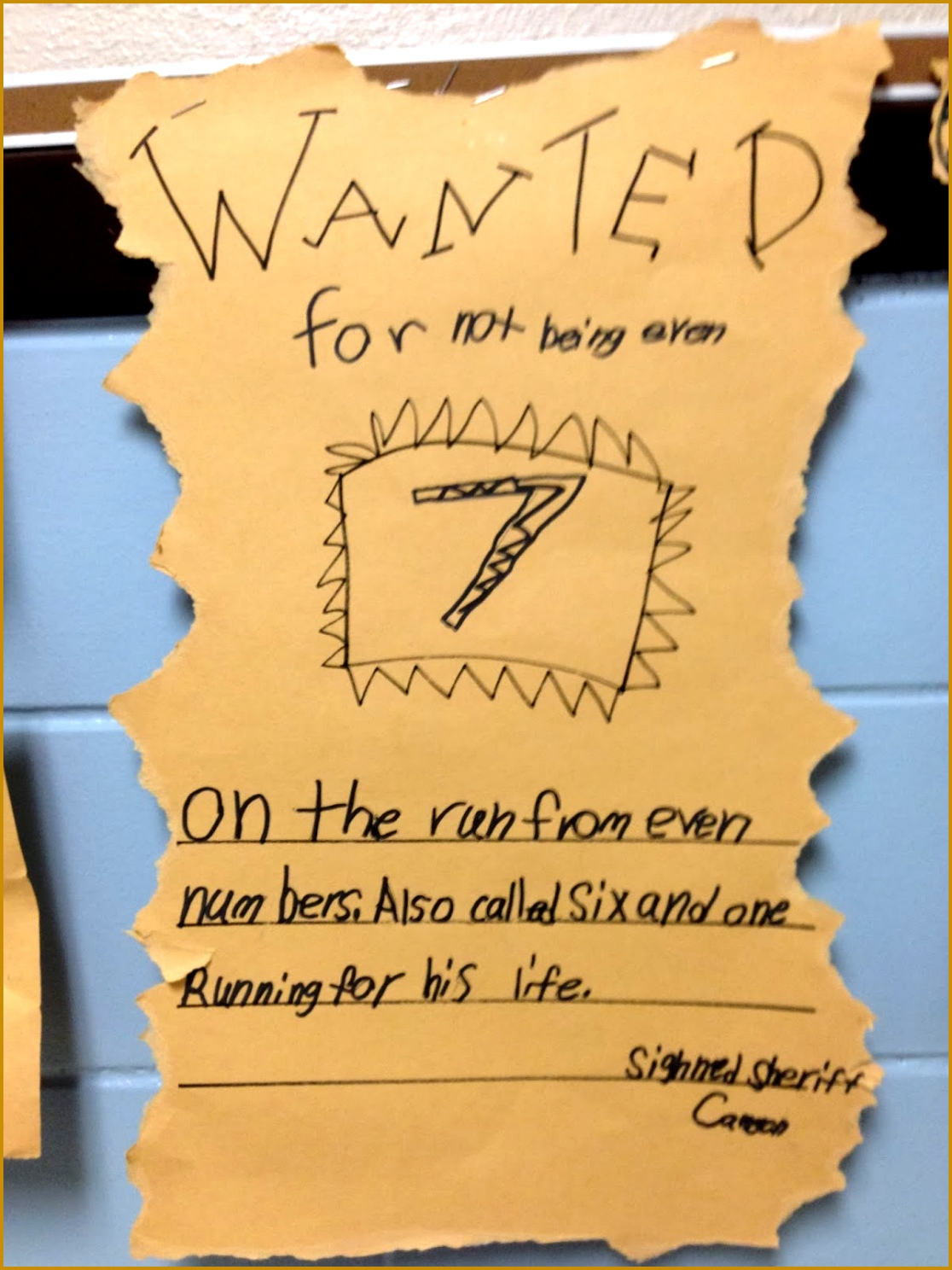 5 Cute Wanted Posters