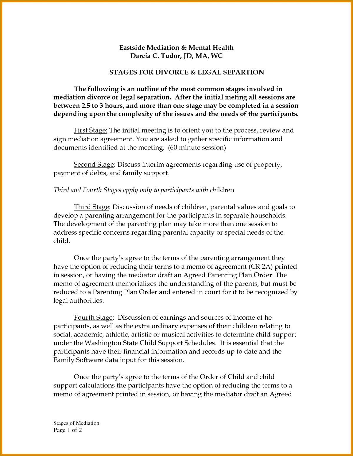 5 Financial Settlement Agreement Template