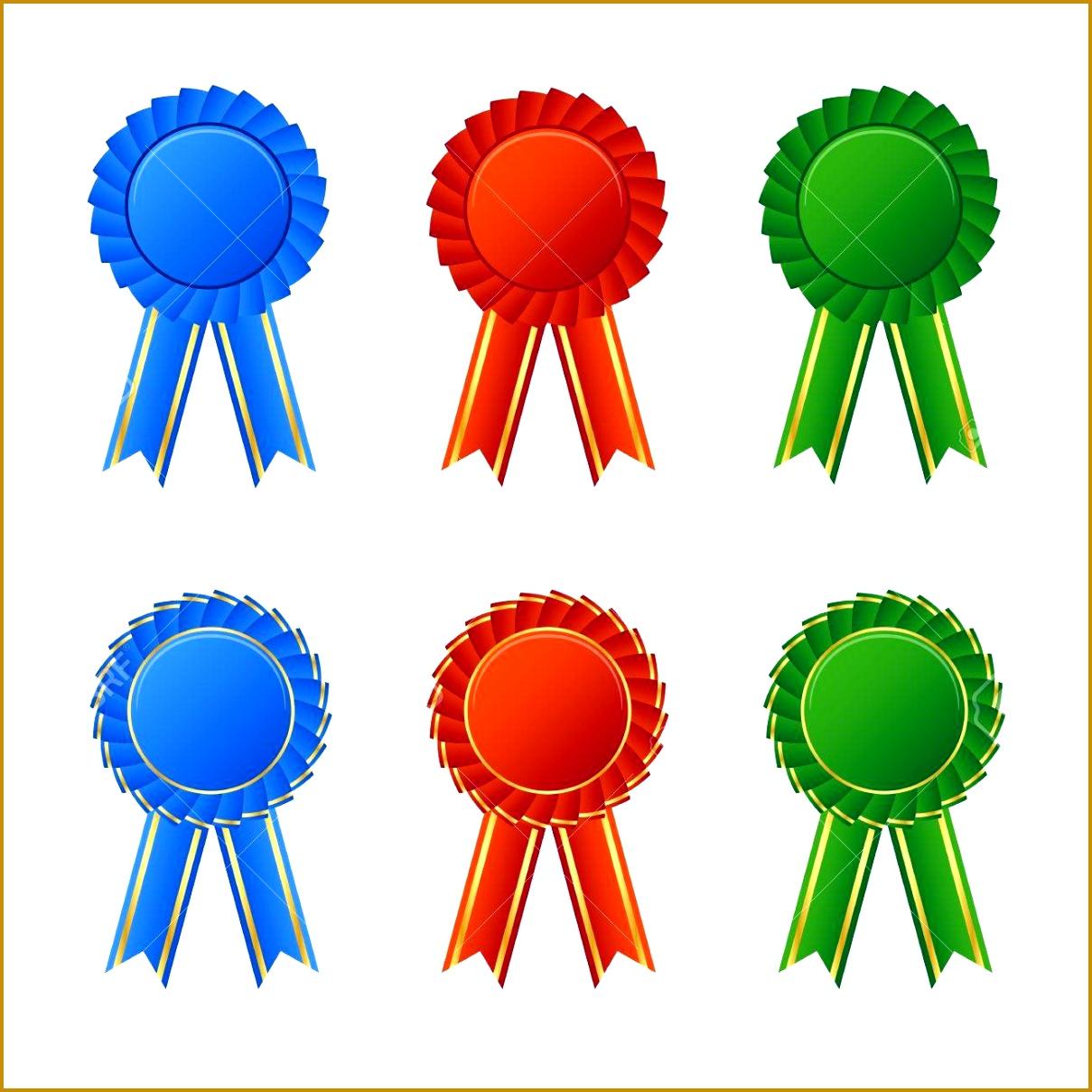 4 Sample Ribbon Award FabTemplatez