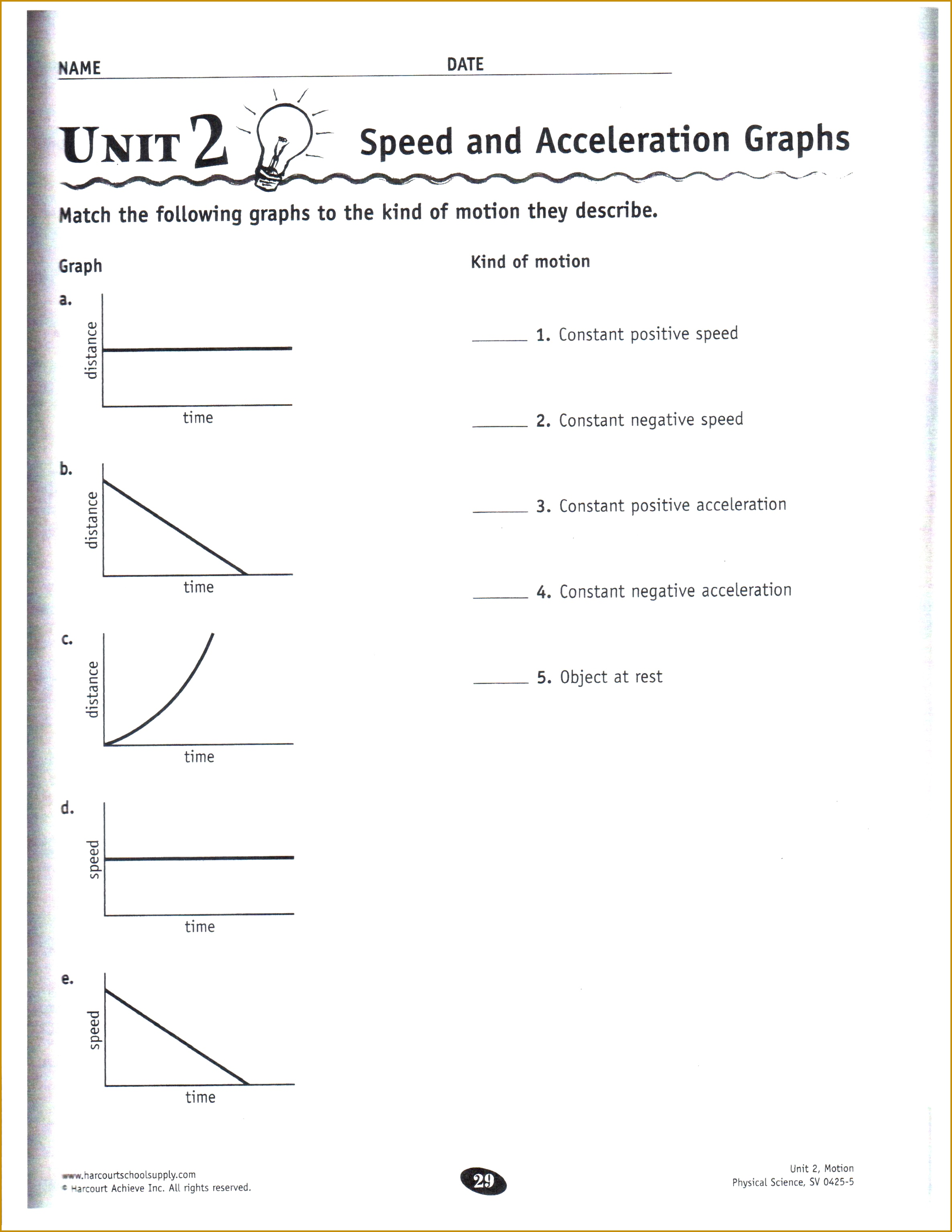 4 5th Grade Science Worksheets