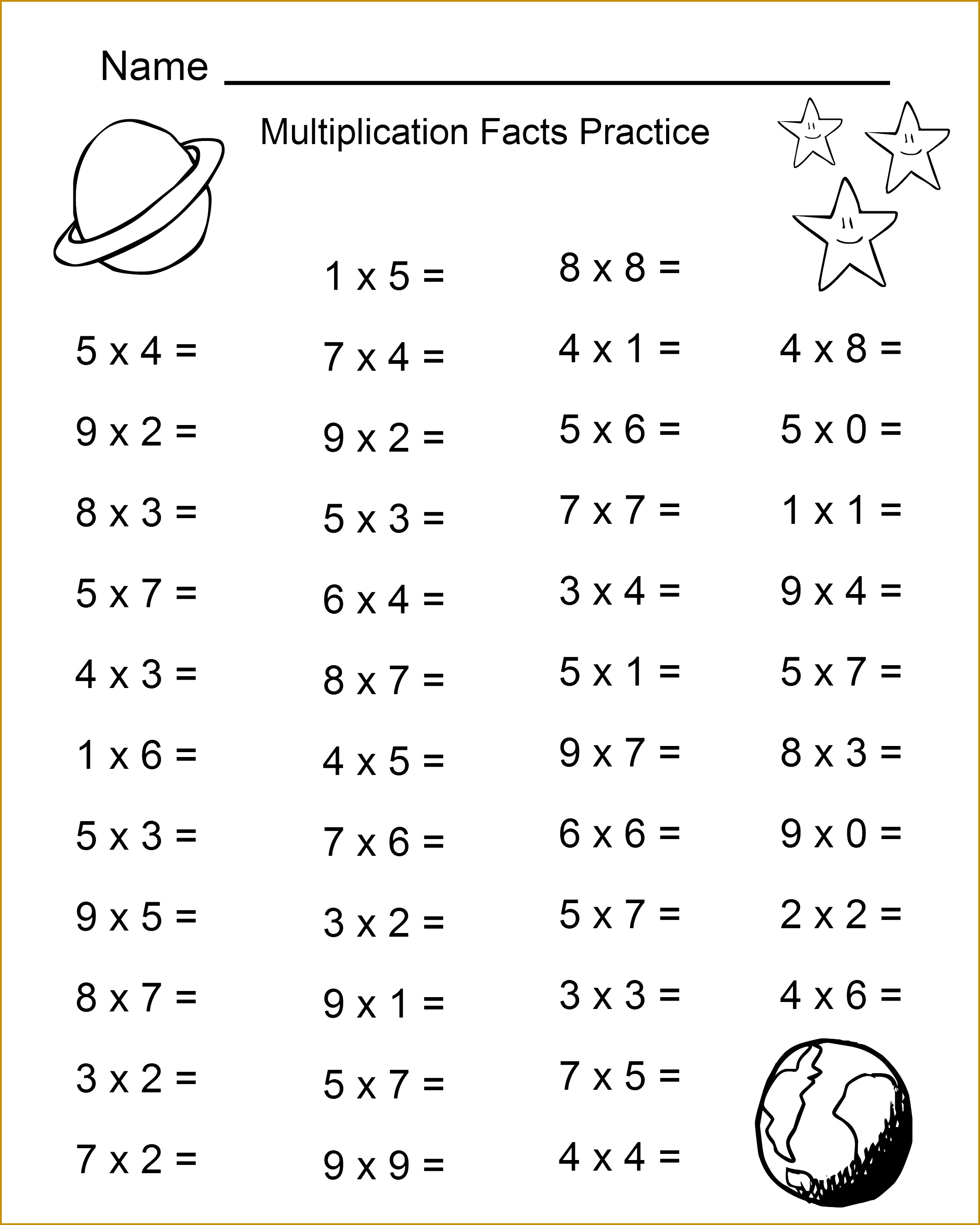 4 9th Grade Math Worksheets