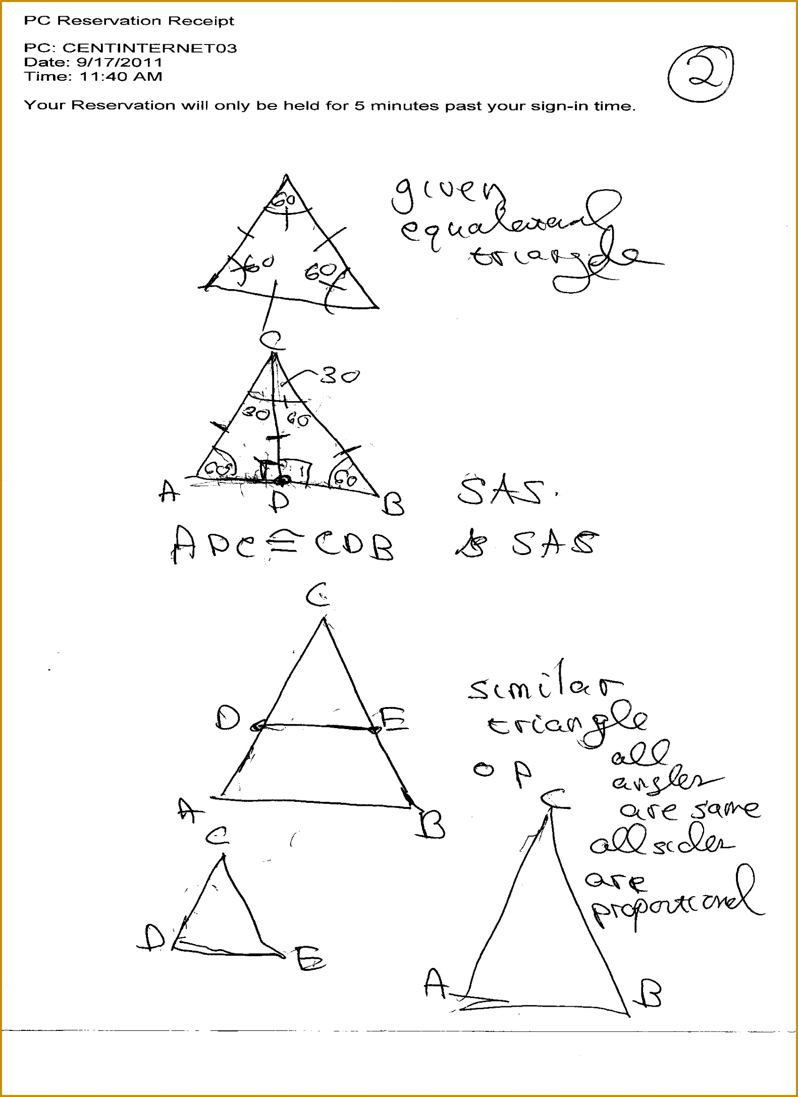 5 Congruent Triangles Worksheet