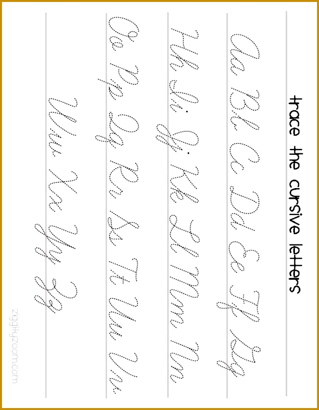 Cursive Worksheets 63567 Cursive A Worksheet Handwriting