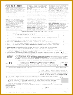 5 Deductions And Adjustments Worksheet For Federal Form W