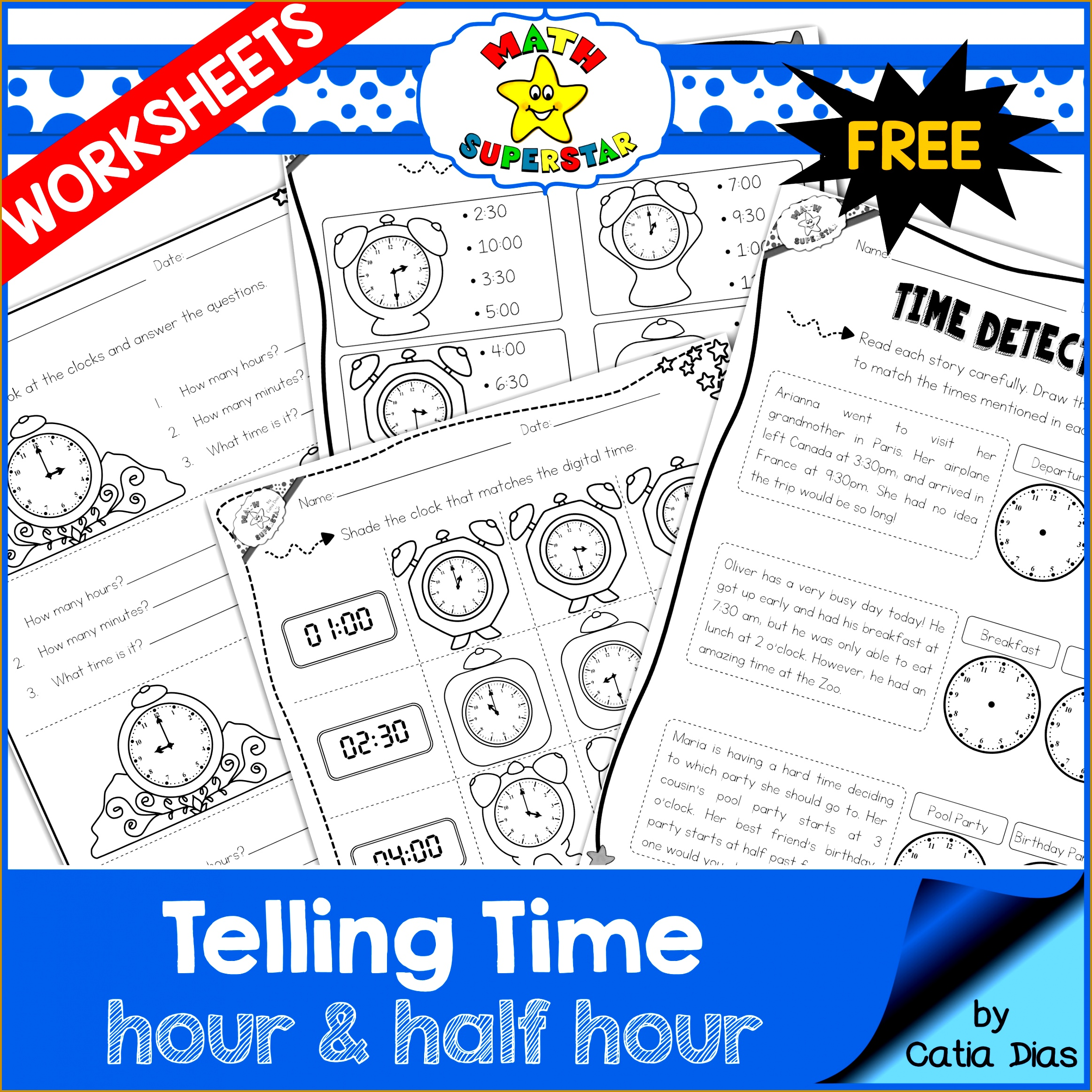 4 Elapsed Time Worksheets