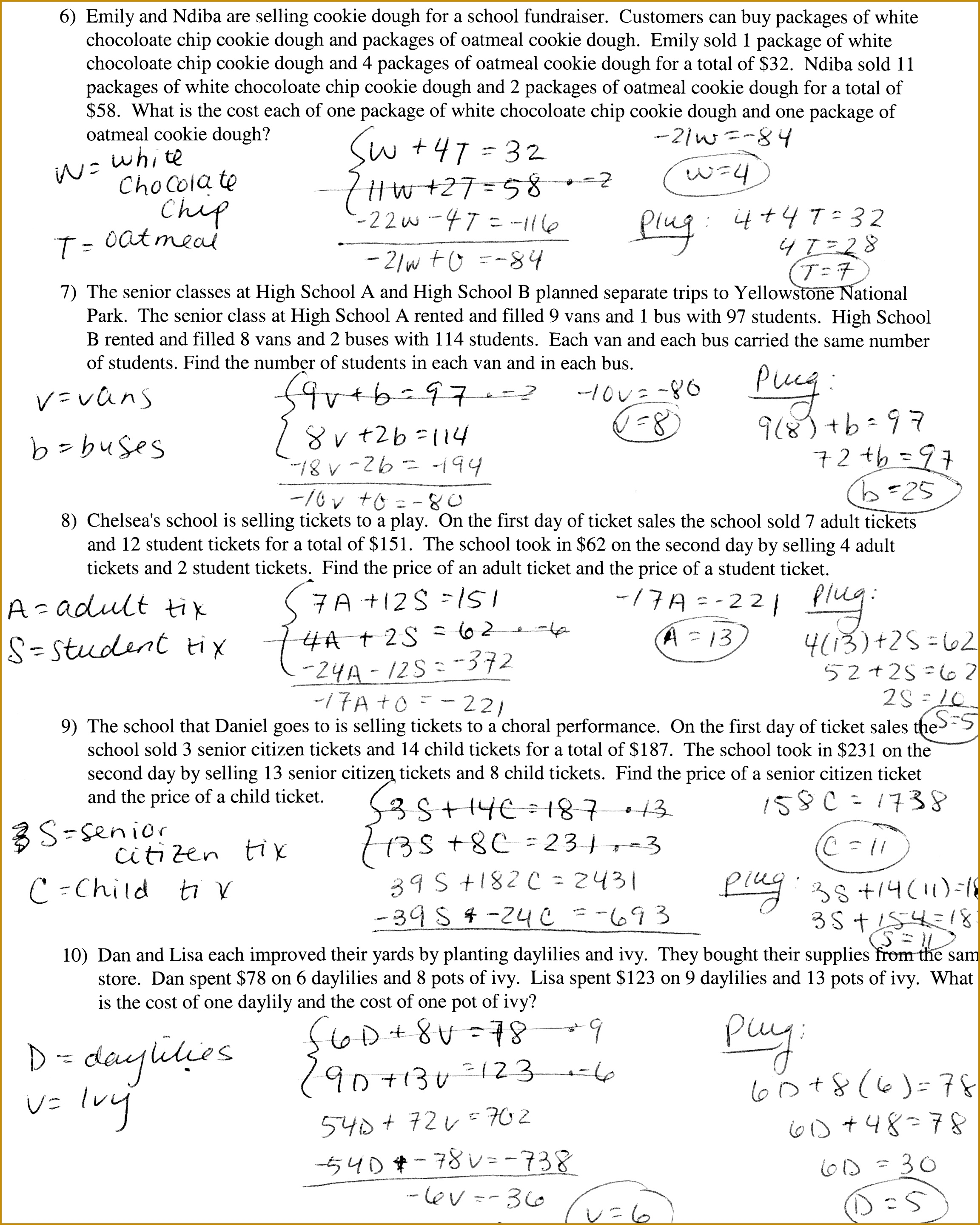 Algebra 1 Factoring Worksheet Factoring Difference Of