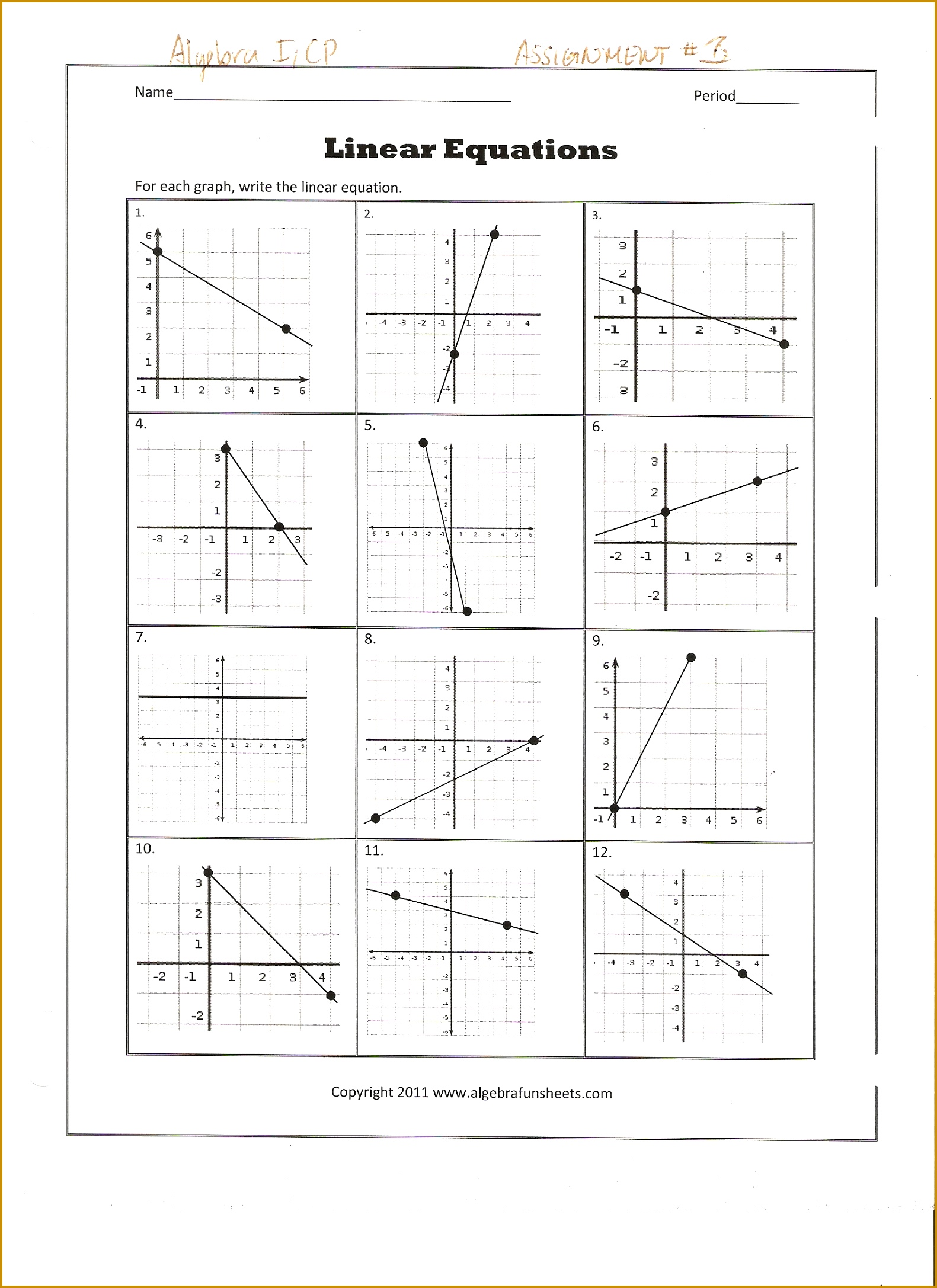 6 Find The Slope Worksheet