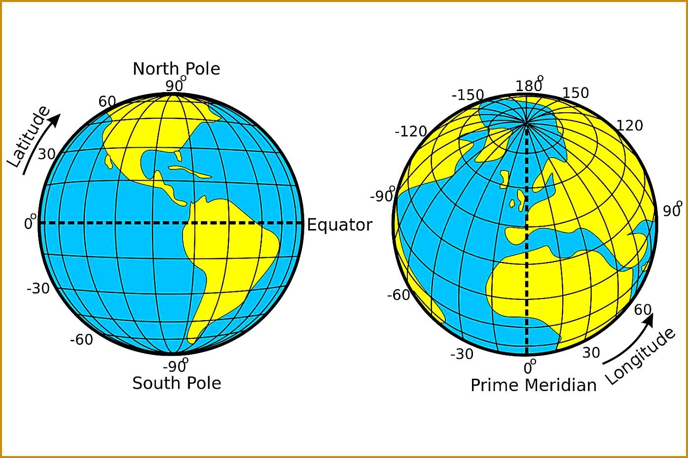 3 Latitude And Longitude Worksheets