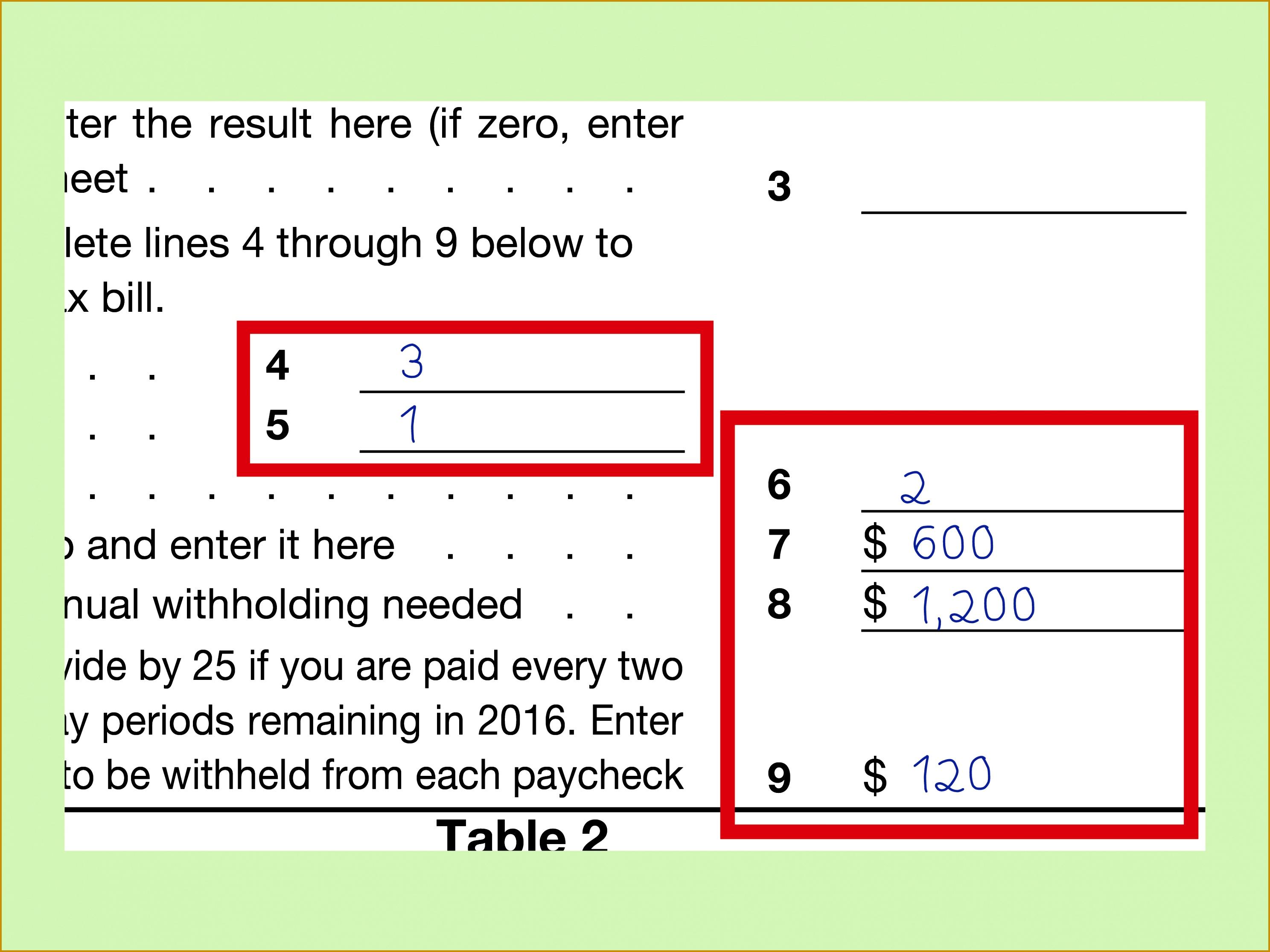 6 Line F On The Ez Worksheet