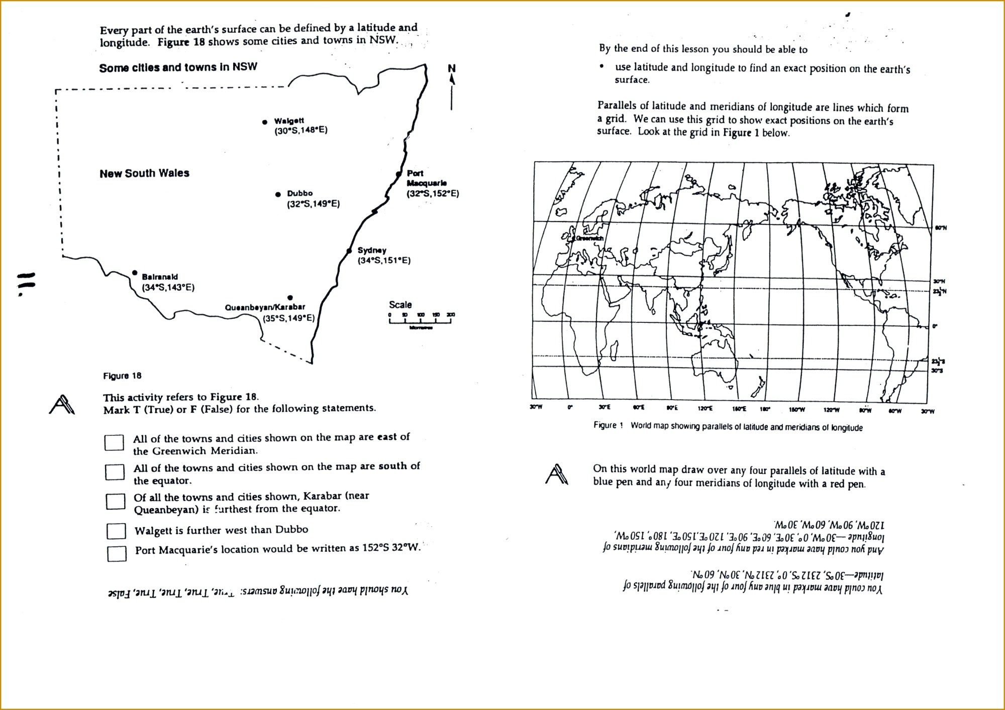 hight resolution of 3rd Grade Longitude And Latitude Worksheets   Printable Worksheets and  Activities for Teachers