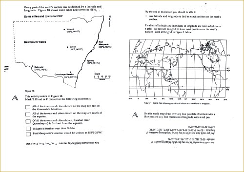 small resolution of 3rd Grade Longitude And Latitude Worksheets   Printable Worksheets and  Activities for Teachers