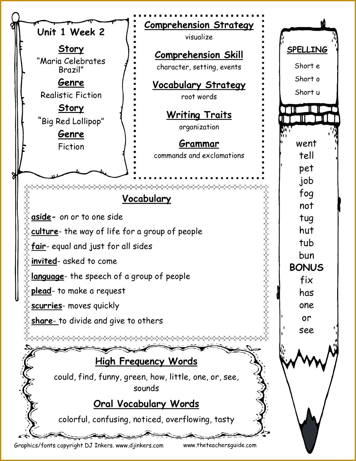 6 Math Worksheets For 1st Grade