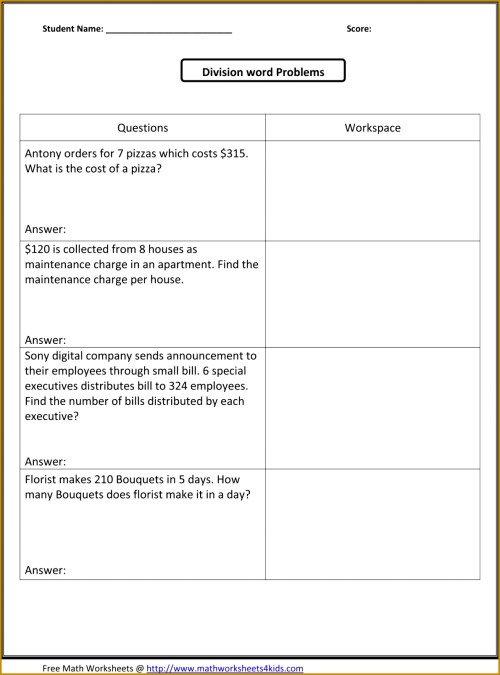 small resolution of Dividing Fractions Story Problems Worksheet   Printable Worksheets and  Activities for Teachers