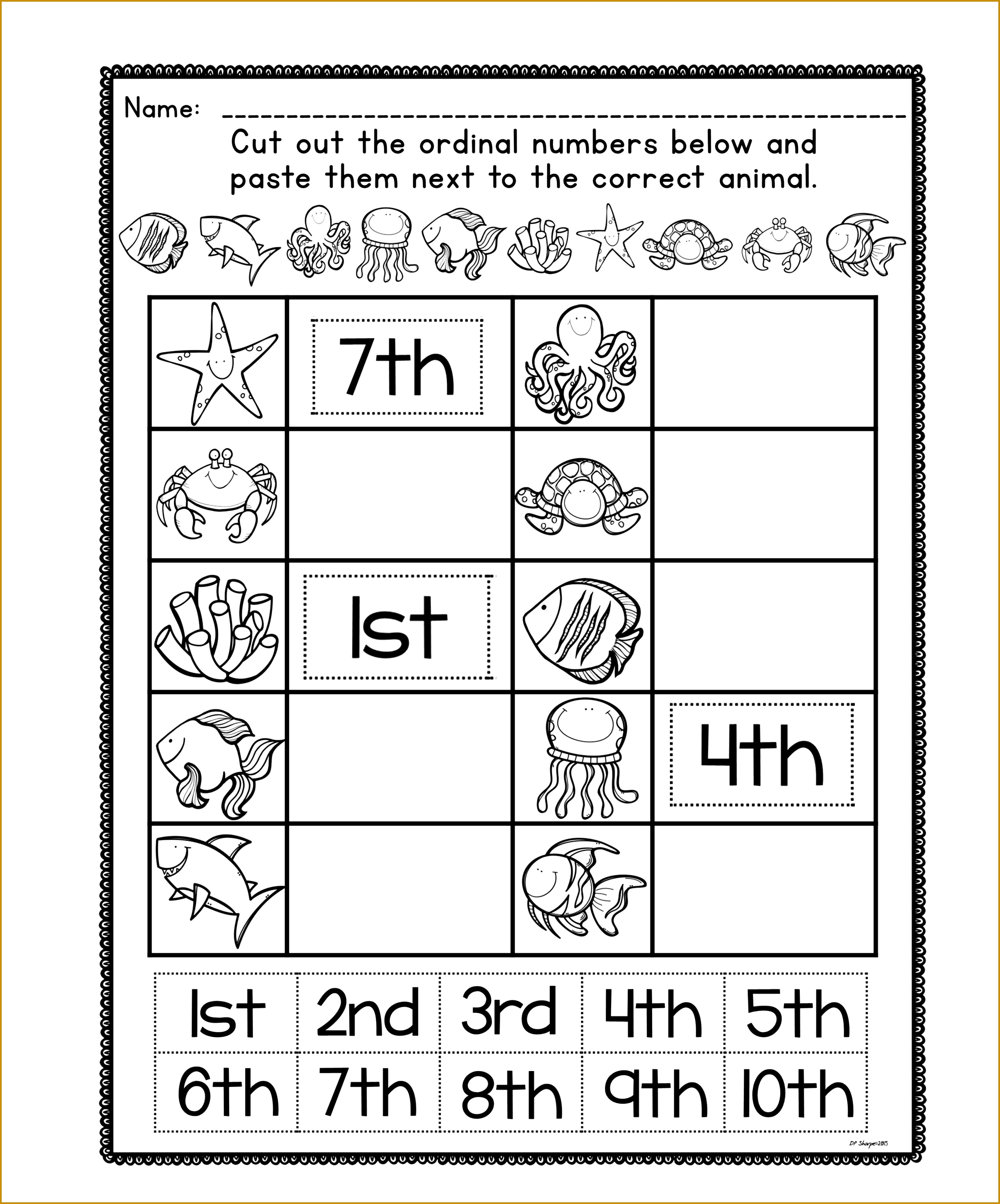 3 Number Tracing Worksheets