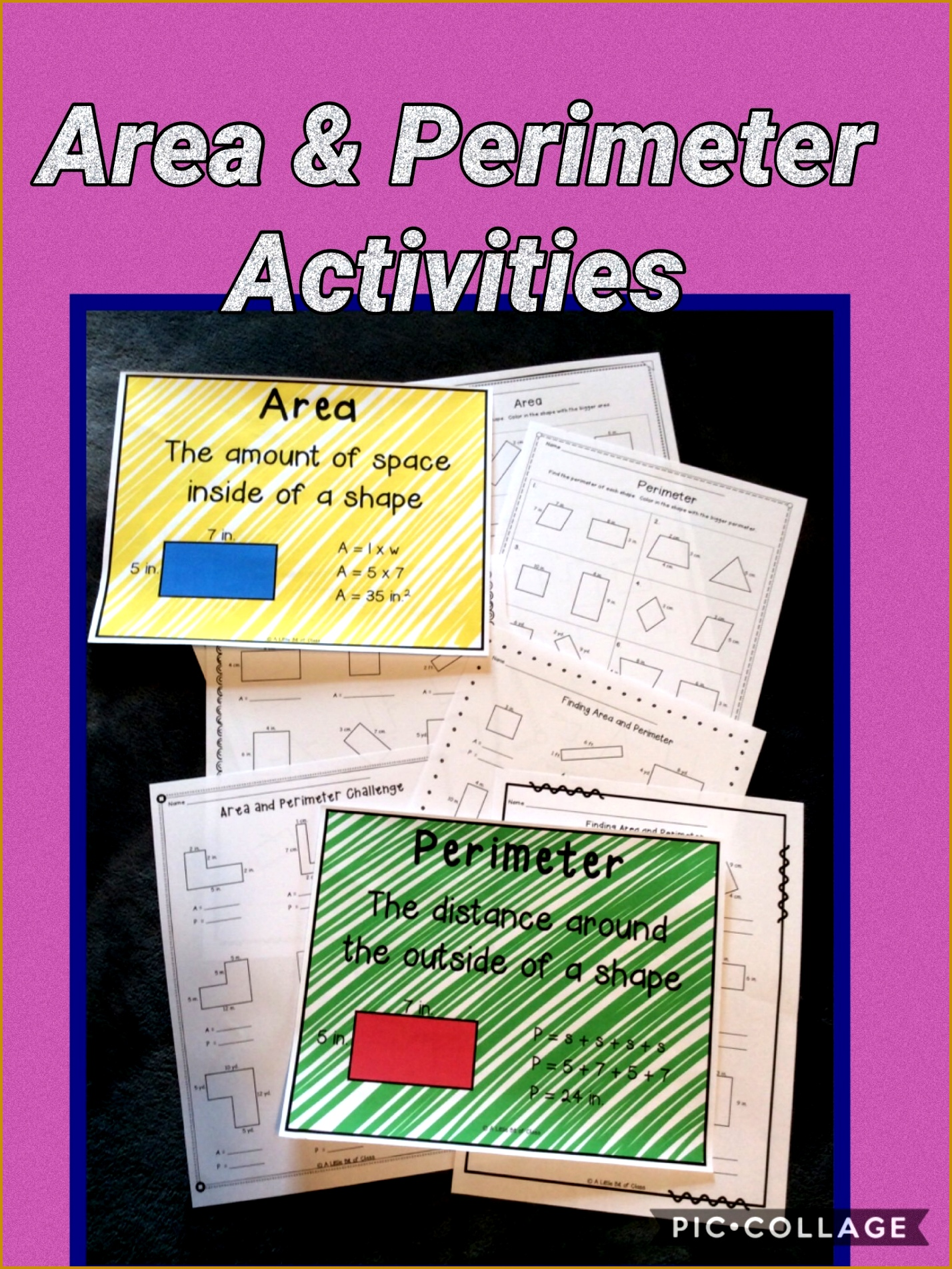 7 Perimeter And Area Worksheets