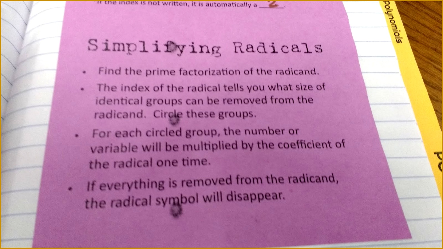 6 Simplifying Radicals Worksheet