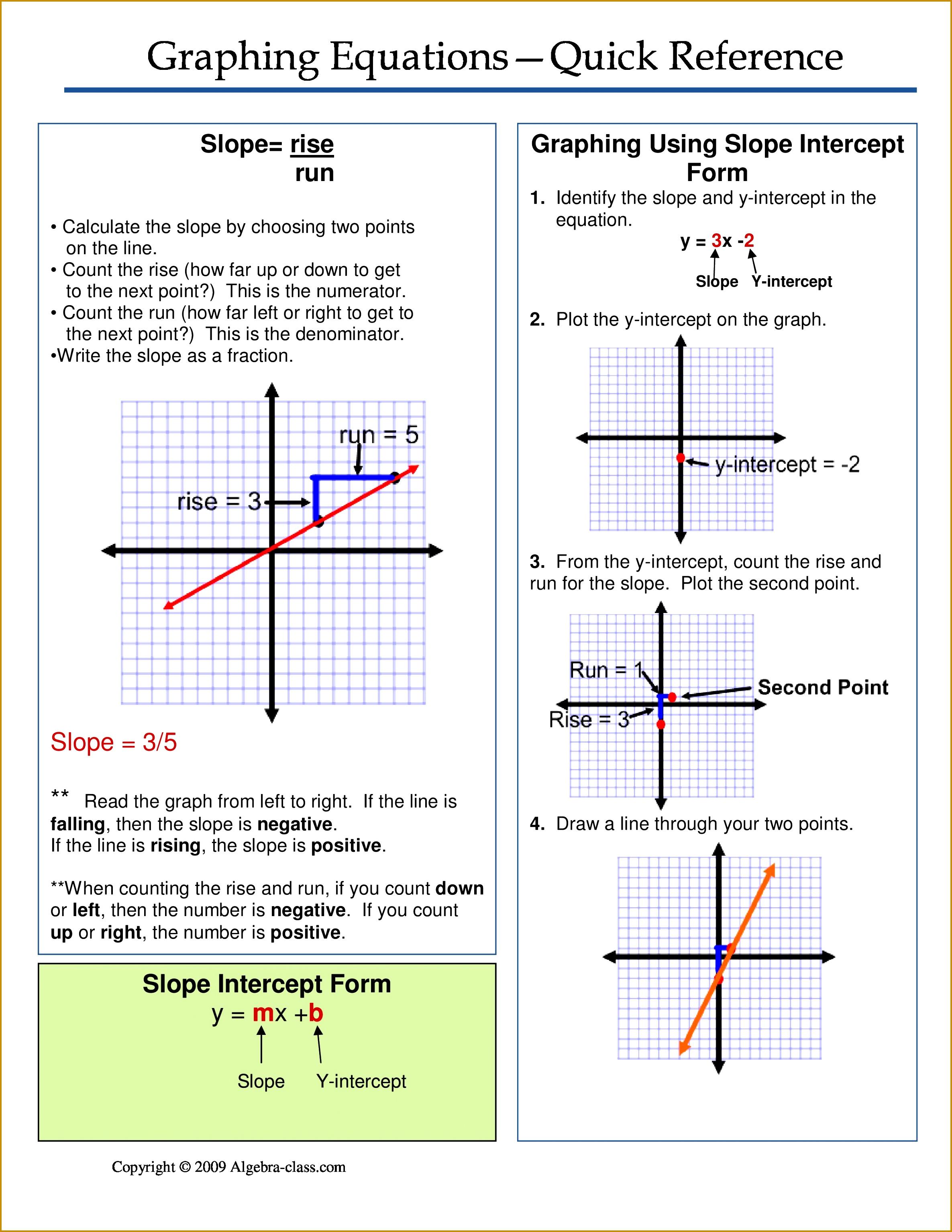 4 Solving Equations Worksheet