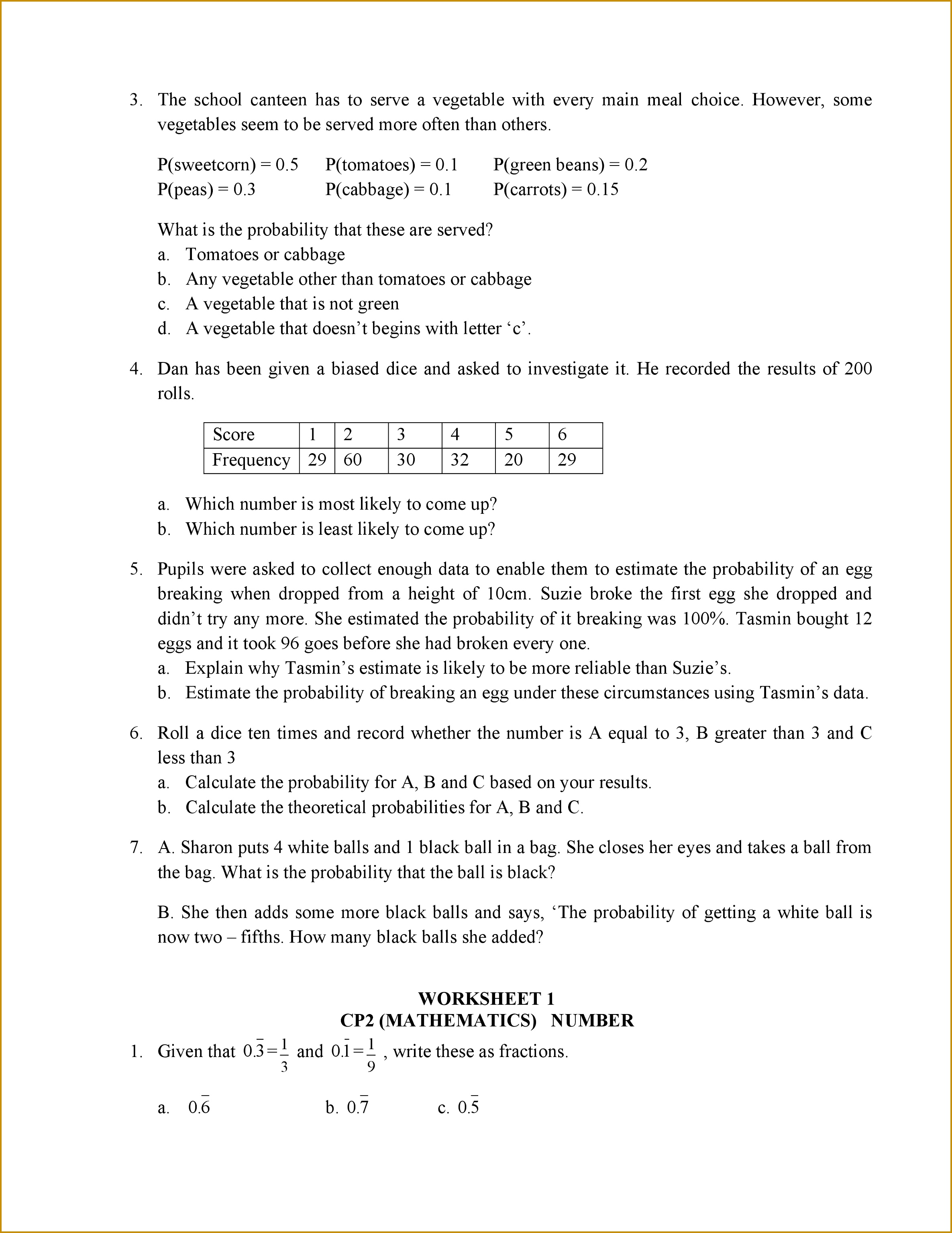 6 Worksheet 7 4 Inverse Functions