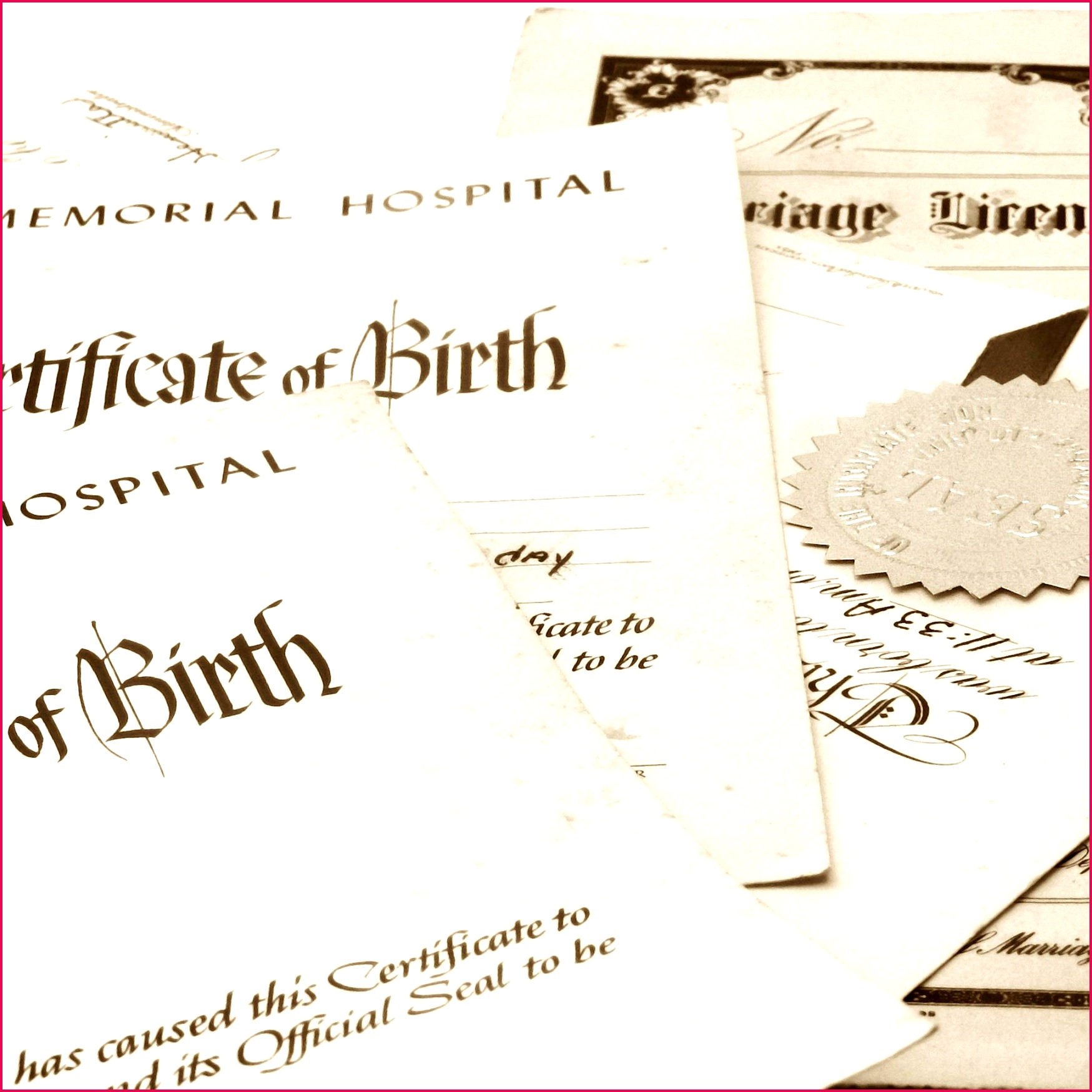 4 Louisiana Birth Certificate Template