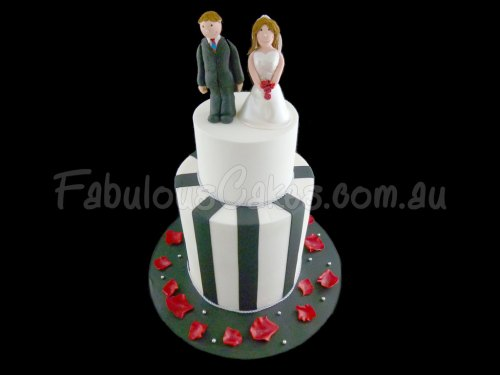 black-and-white-wedding-cake