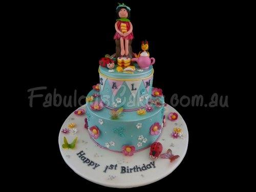 Fairy Tea Party Cake
