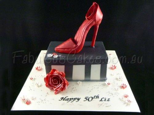 red-shoe-cake
