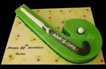Hockey Stick Birthday Cakes
