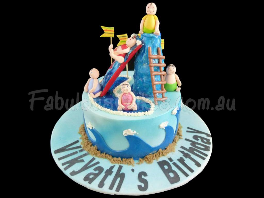 Water Park Theme Cakes Fabulous Cakes