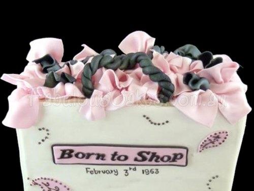 Born to Shop Cake
