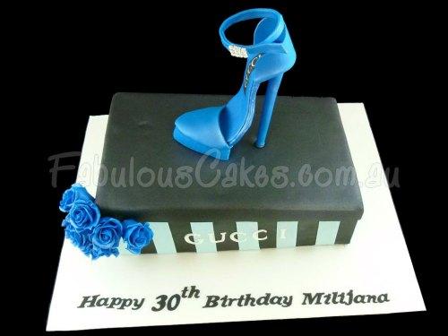 Gucci Stiletto Shoe Cake