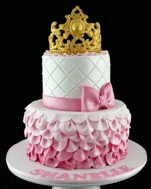 Royal Pink Cake