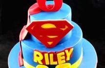 Supergirl Cakes
