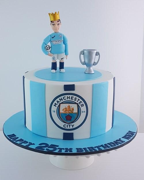 Manchester City Cake