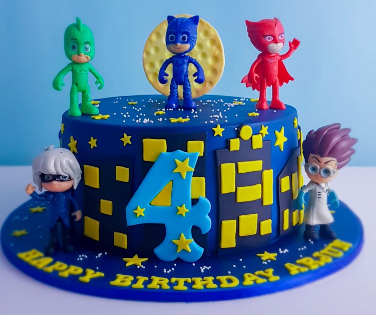pj mask cake  fabulous cakes