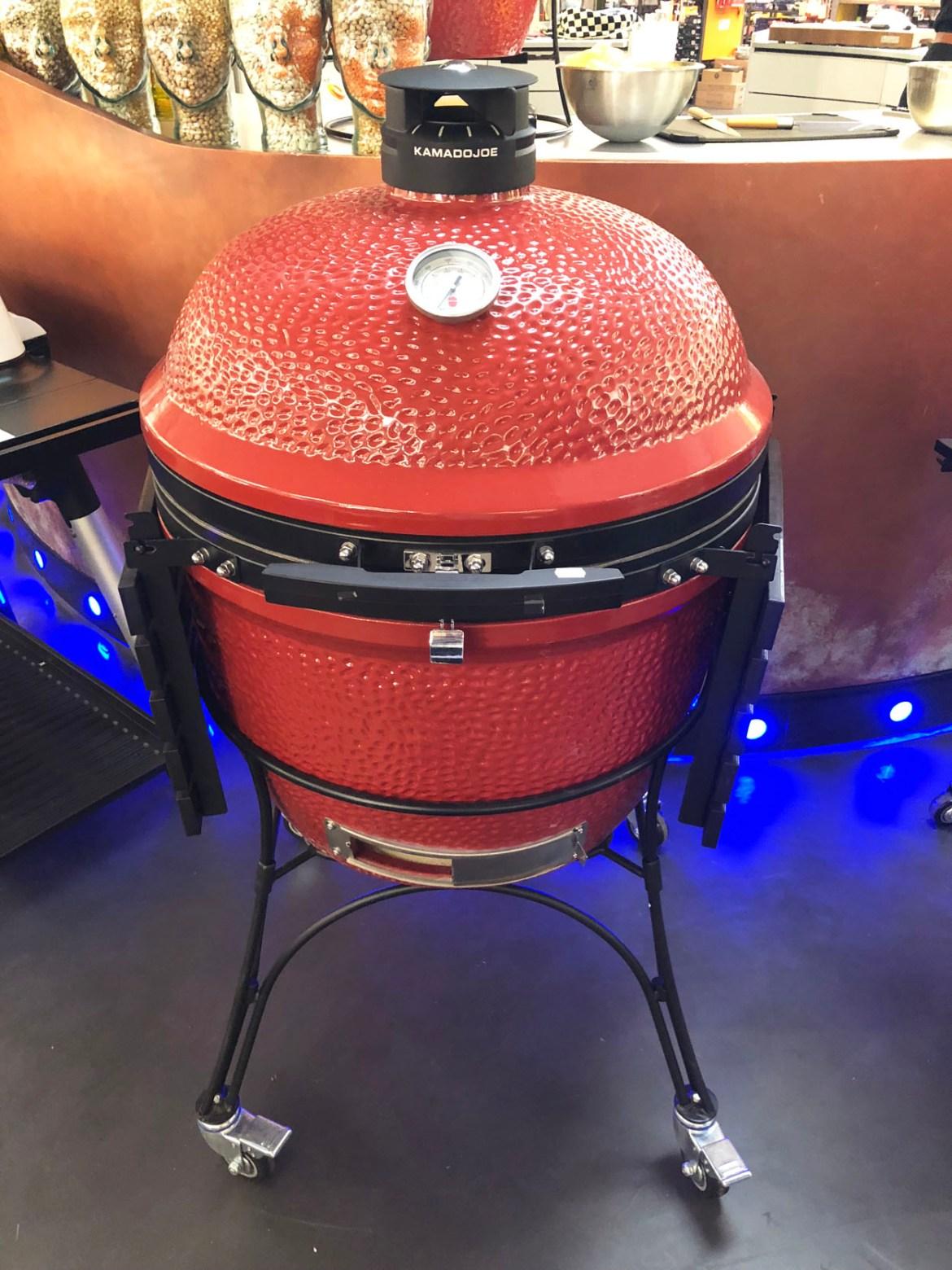 Kamadojoe barbecue grill Kookpunt