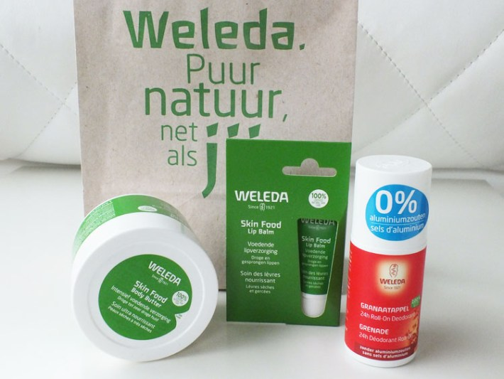 Review Margriet Winterfair 2018 Weleda Skinfood Body Butter Lip Balm