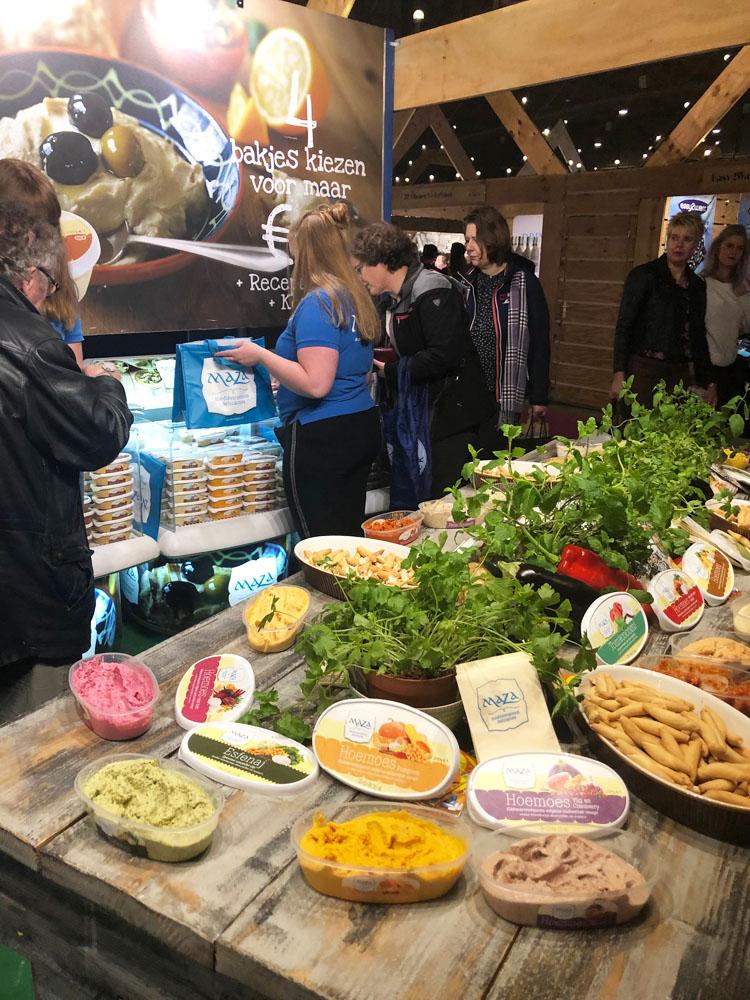 Review Margriet Winterfair 2018 Maza Hummus