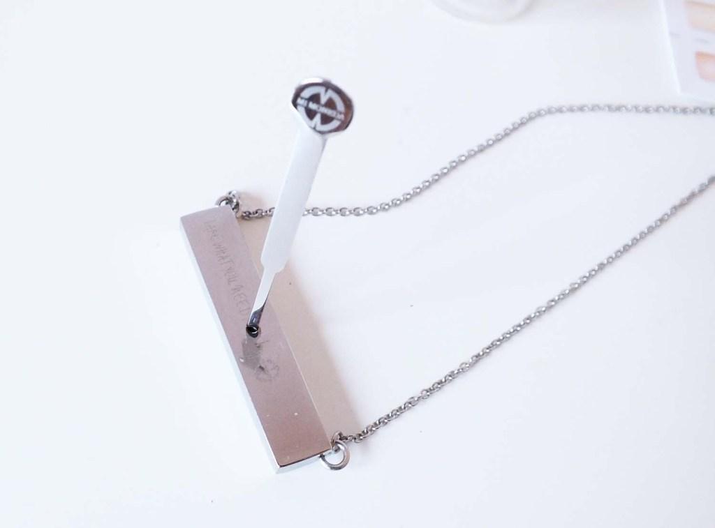 Take What You Need by Mi Moneda ketting zilver verwisselbaar