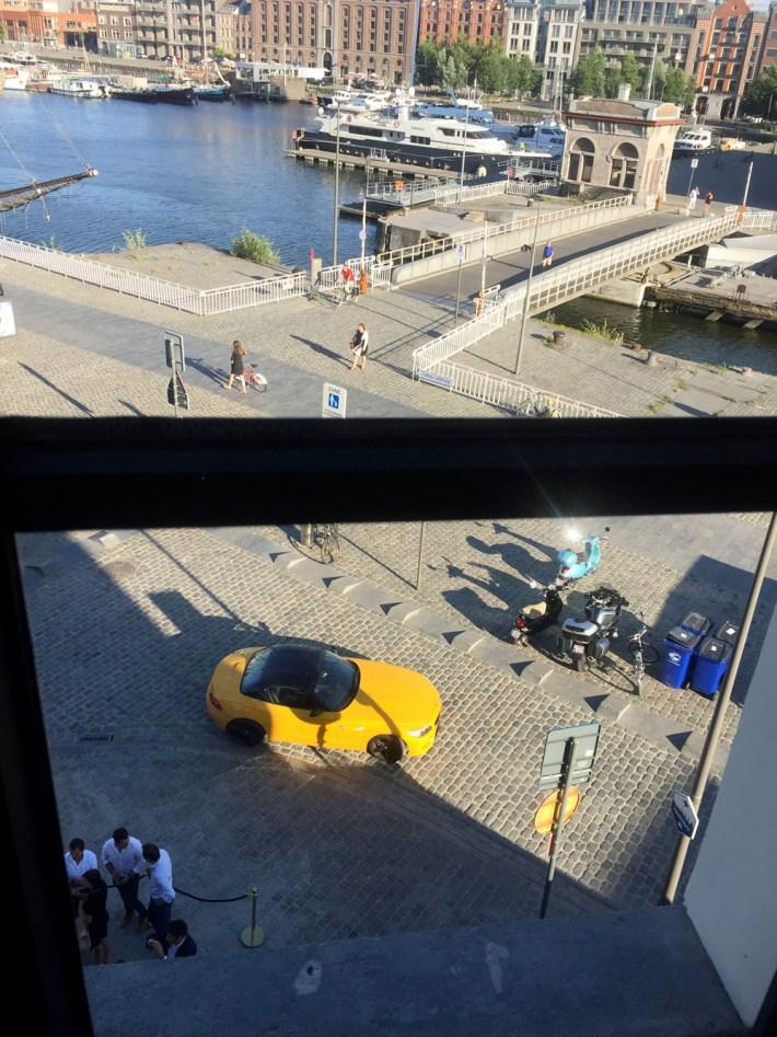 U Antwerp Mas Hotel Eilandjes Antwerpen view